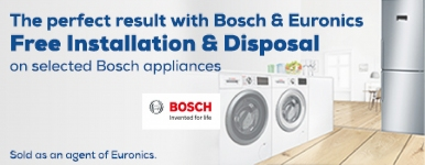 Bosch Free Install on selected products