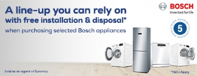 The Bosch Winning Line with free delivery & Installation